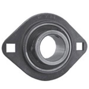 SLFL RHP Pressed Steel Flange Bearing (Metric)