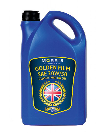 Morris Lubricants Golden Film SAE 20W/50 (5 Litre)