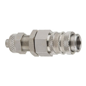 Panel Mount Push-In Fitting Coupling