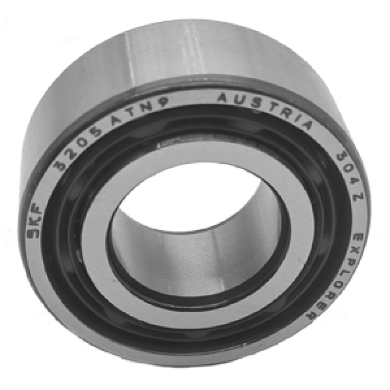 3205 ATN9 SKF Double Row Angular Contact Ball Bearing (Polyamide Cage)