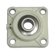 30mm Green Thermoplastic 4 Bolt Flange Bearing