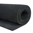 Natural Rubber Corrugated Rubber Floor Black 3mm x 1.2m x 10m