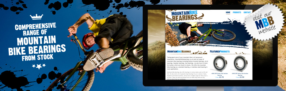 Shop our comprehensive range of Mountain Bike Bearings from stock