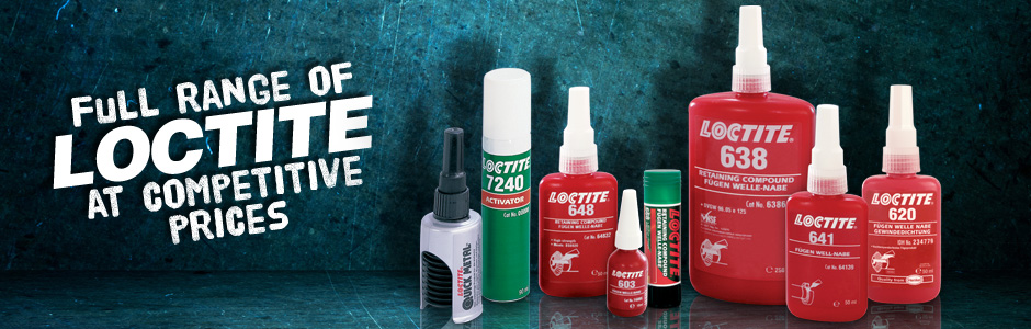 Shop our full range of LOCTITE products at competitive prices