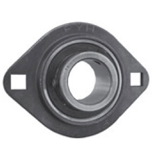 SLFL RHP Pressed Steel Flange Bearing (Metric)