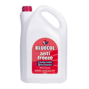Bluecol 5 Year Antifreeze 5 Litres V.W Approved
