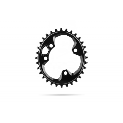 Absolute Black MTB Oval Rotor 76 BCD