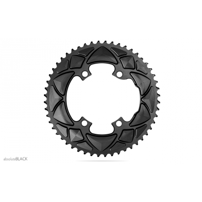Absolute Black Road Round 2X For All Shimano 110/4