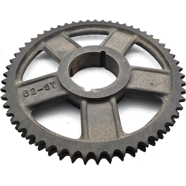 """62-57 Sprocket - 3/4"""" Pitch Duplex 57 Teeth (3020)"""