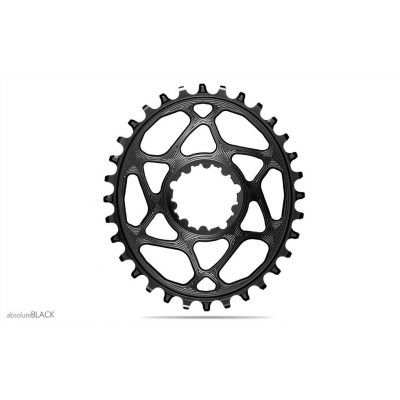 Absolute Black MTB Oval SRAM Boost 148 DM (3mm Offset) For 12SP Shimano HG Chain