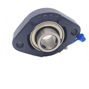 30mm 2 Bolt Flanged Bearing (Flat Back Set Screw Lock Insert)