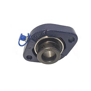 35mm 2 Bolt Flanged Bearing (Flat Back Eccentric Locking Collar Insert)