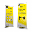 Covid 19 Pop Up Banner